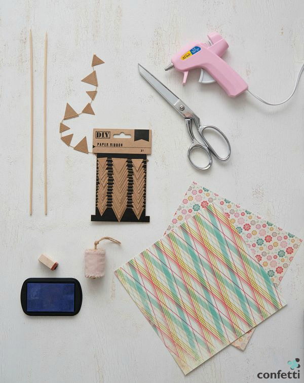 Bunting - What you'll need