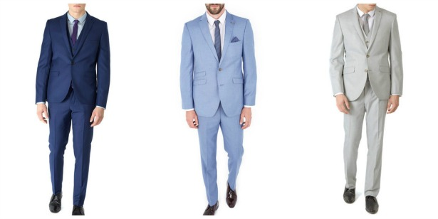 Modern menswear for the groom by Burtons| Confetti.co.uk