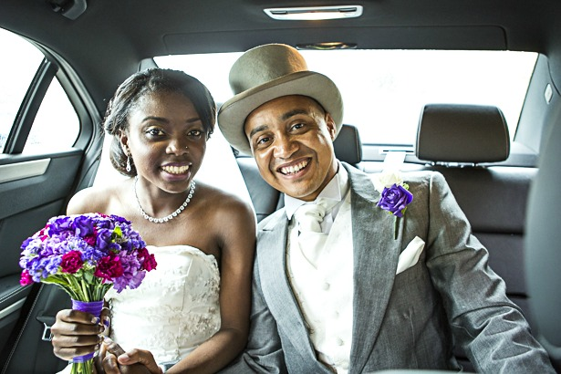 Bride and groom style at Precious and Jerald's Real Wedding | Confetti.co.uk