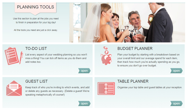 The Confetti.co.uk guide to being a bride | Wedding planning tools