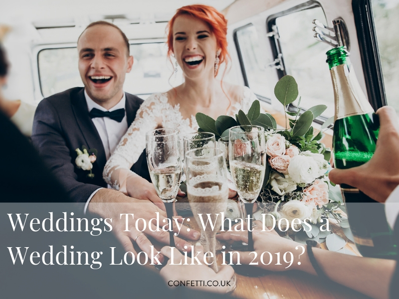 Average Weddings in UK 2019