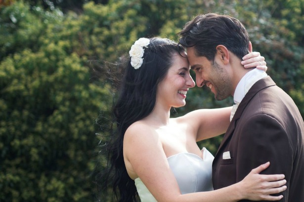 Bride and groom by Clarisa Wedding Photography | Confetti.co.uk