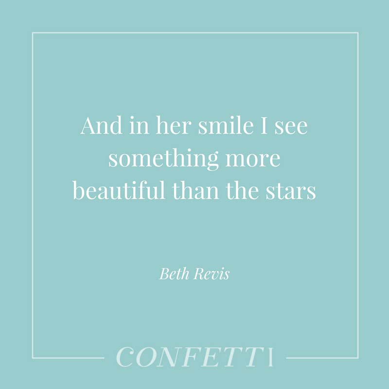 Star themed love quote