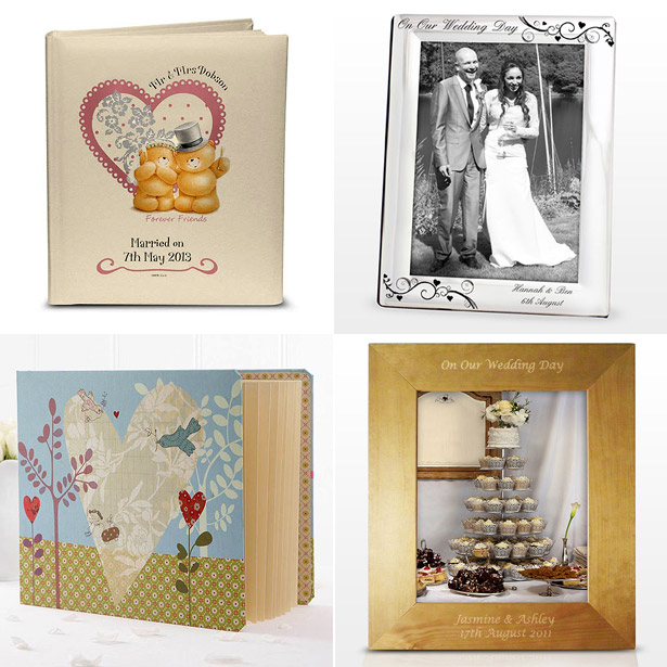 Wedding Photo Frames and Albums