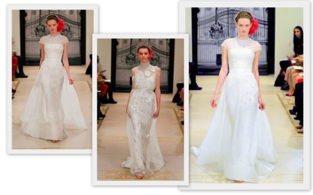 Bridal Wedding Gown Trends 2012