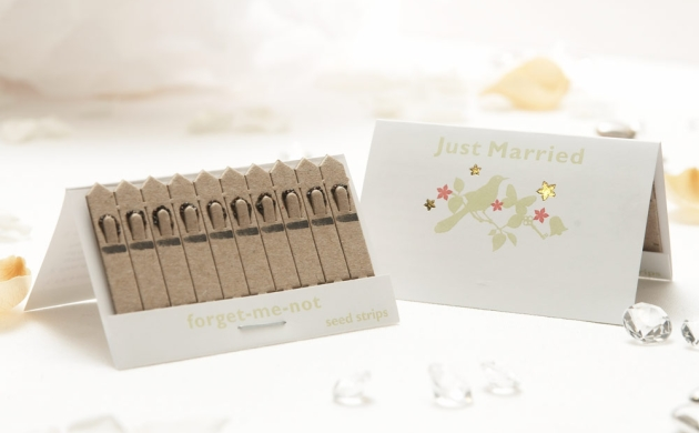 'Just Married' seed strips