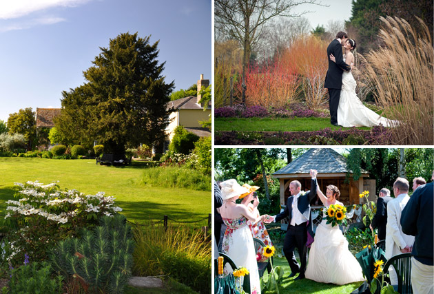 Country garden weddings at South Farm