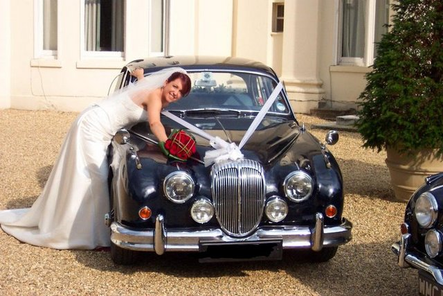 Morse wedding car
