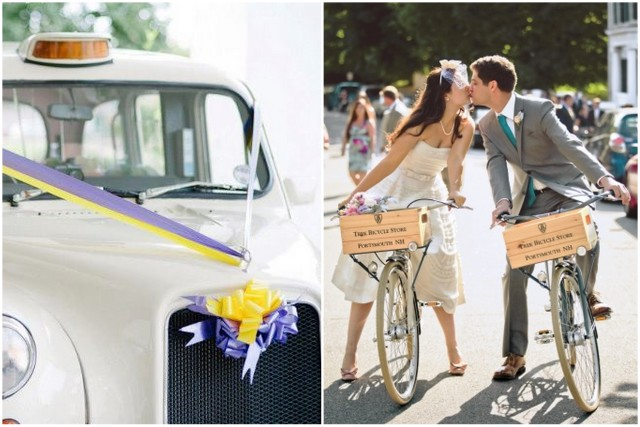 Wedding Car Decor & Wedding Bicycles