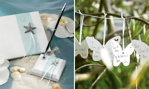 Confetti Guest Book & Wishing Garland