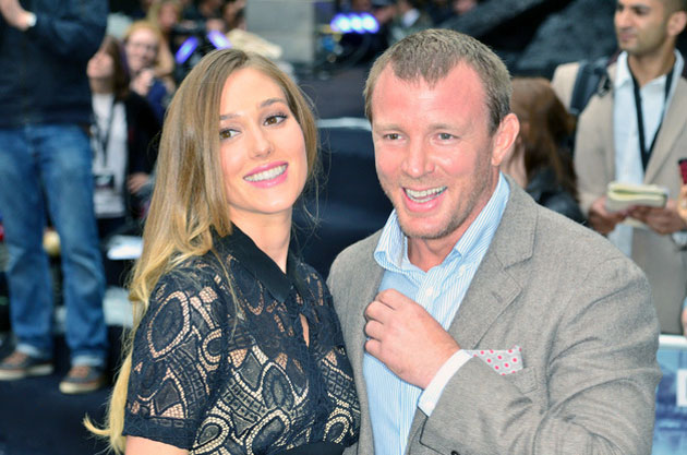 Guy Ritchie Engagement