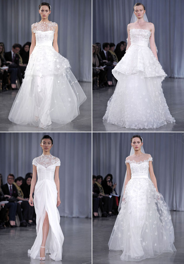 Monique Lhullier Fall 2013 Bridal Collection