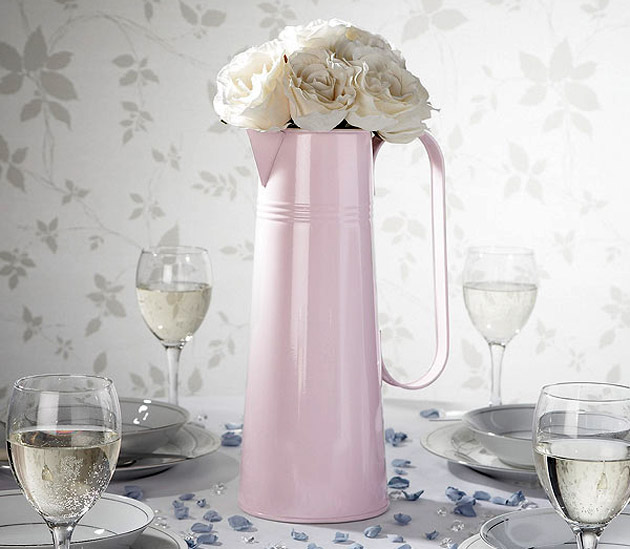 Wedding Reception Table Large Metal Jug
