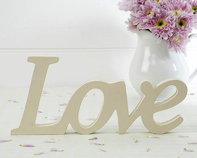 LOVE Sign Table Centrepiece