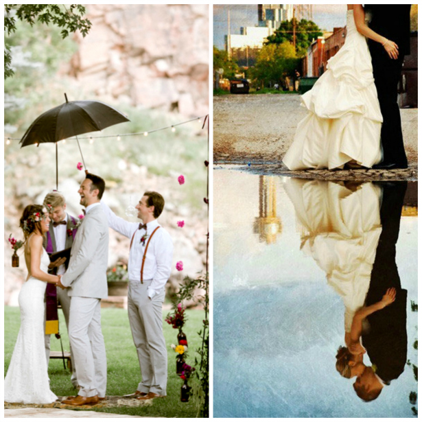 How to Absolutely Smash Your Rainy Wedding Day Photography | Confetti.co.uk