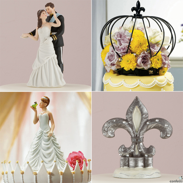 Royal Cake Toppers | Confetti.co.uk