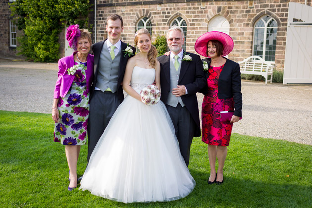 Bride And Groom Official Family Photo