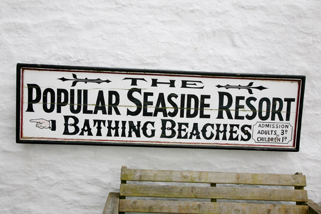 Beach Venue Sign
