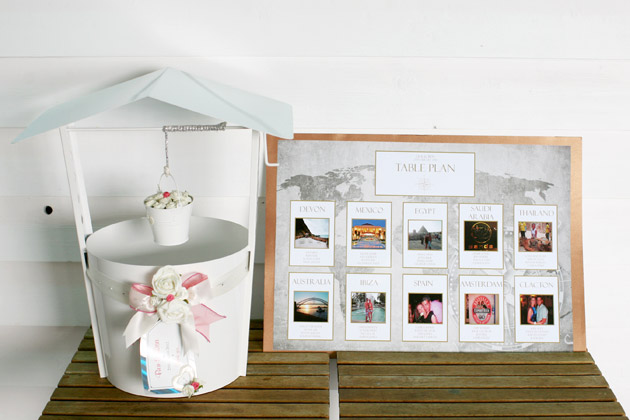 Table Plan and Wishing Well