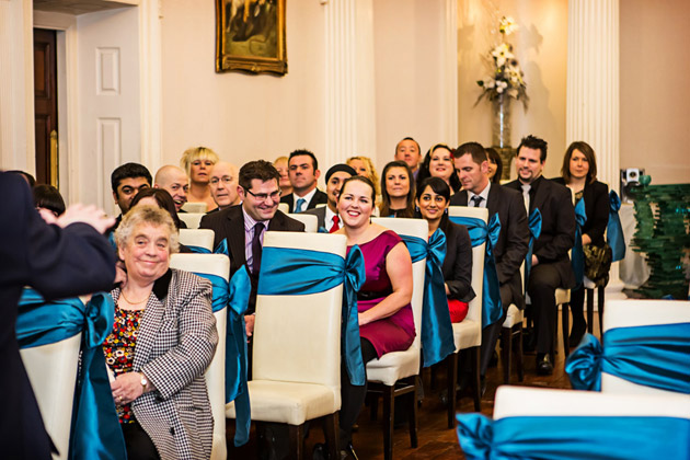 Guests Waiting For Ceremony