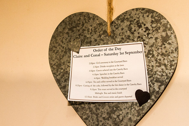 Heart Order of Service