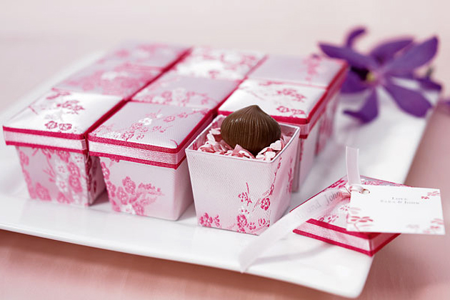 Asian Style Wedding Favour Boxes