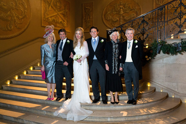 Newlyweds with Parents