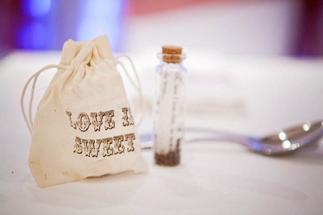 Love is Sweet Candy Bags Wedding Favours