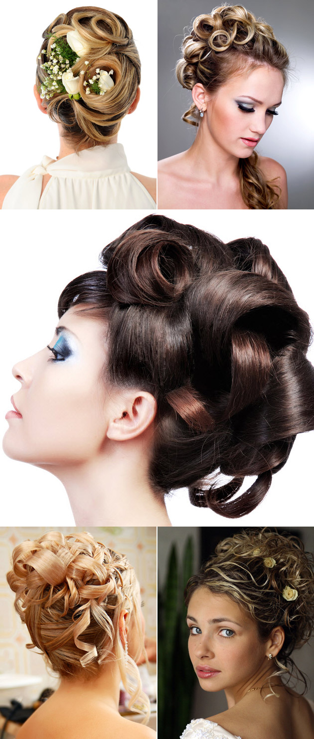 Bridal Hair Wedding Waves and Twists Styles