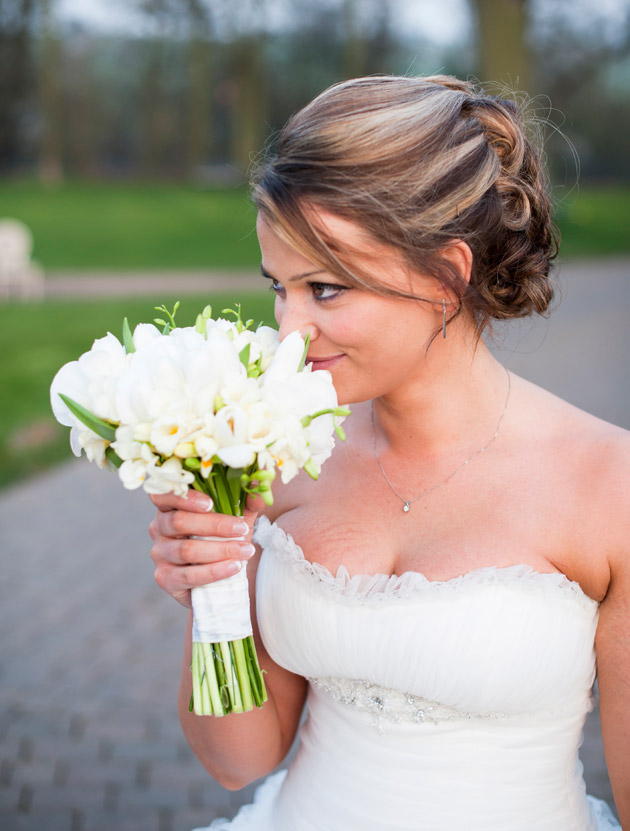 Bride's Portrait with Bouquet