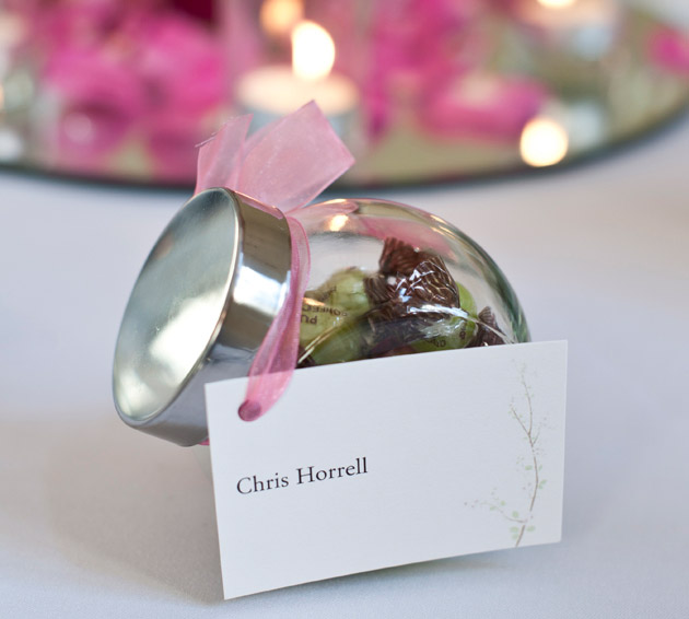 Candy Jar Wedding Favours