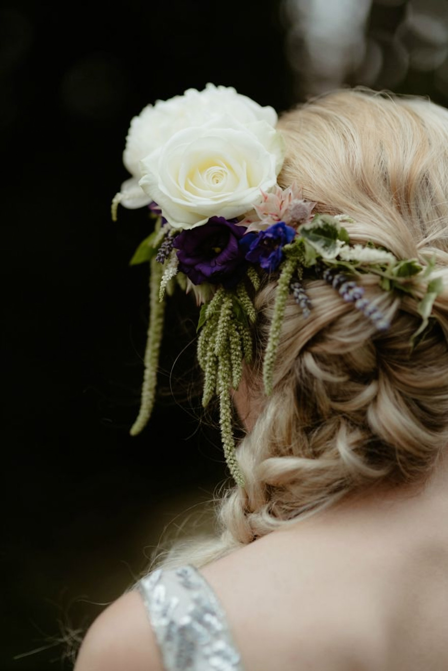 DIY Flower Crown - How to Make a Half Flower Crown by Interflora | Confetti.co.uk