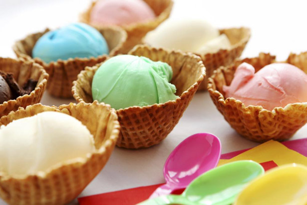 Sorbet flavours