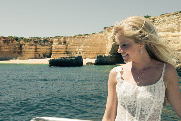 Wedding boat trip