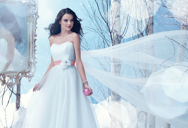 Winter dress by alfred angelo