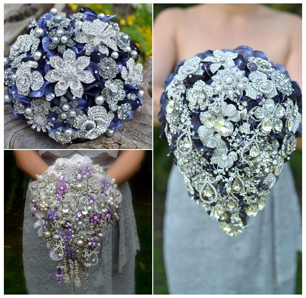 brooch-bouquets