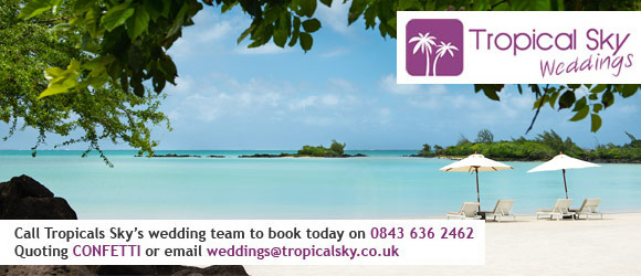 Win a luxury honeymoon in Mauritius with Tropical Sky