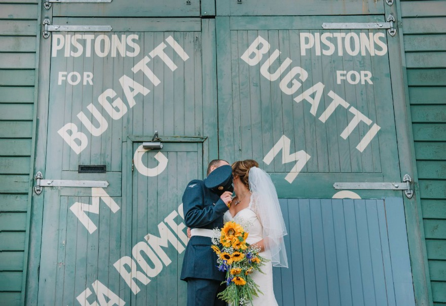 Military wedding ceremony by Emma Jane Photography | Confetti.co.uk
