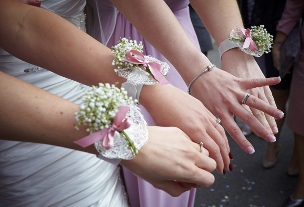 Bridesmaids Wedding corsages