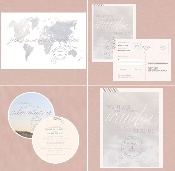 Wanderlust Stationery Collection
