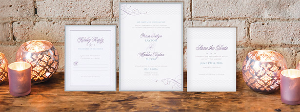 Contemporary Vintage Stationery