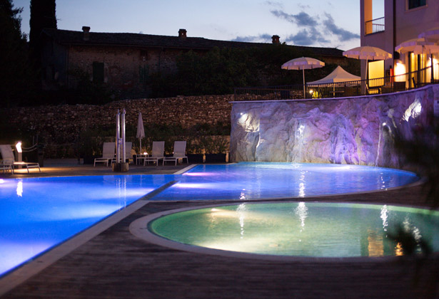 Evening recpetion at Hotel Sogno