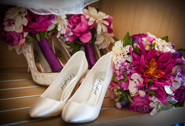 Wedding shoes by Perfect Court Shoes
