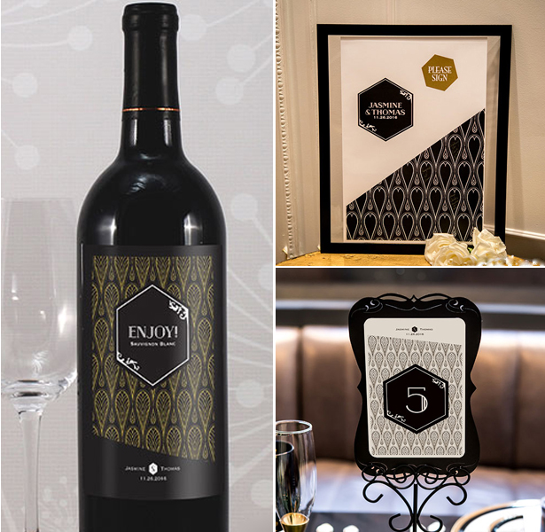 art-deco-wine-label-and-table-number