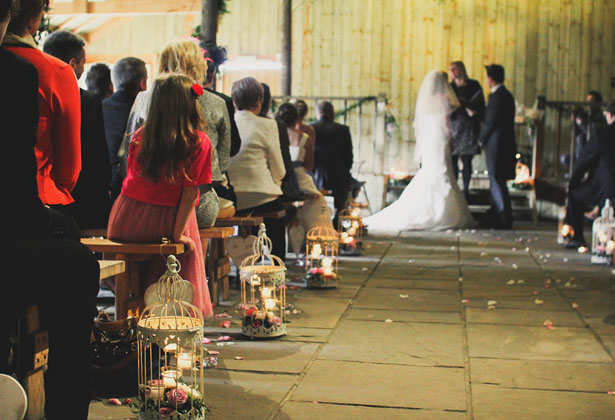 Guests watching the ceremony