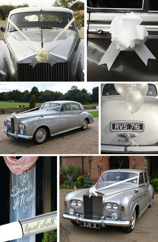 Decorating the Wedding Car - Alpha Class and Decoration Pack and Liquid Chalk