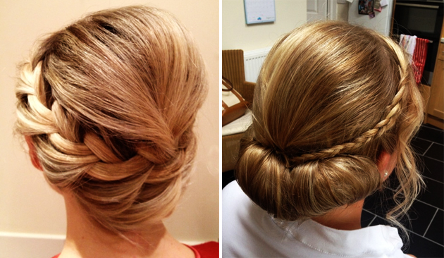 Bridal plait hair inspiration for weddings 2014