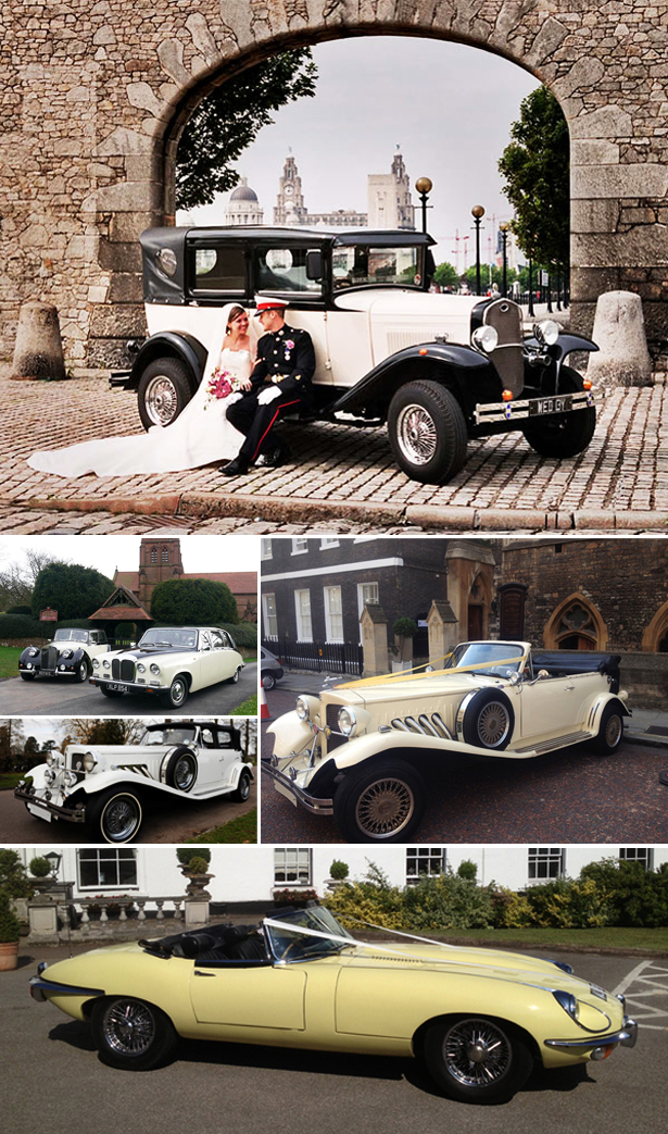 Barringtons Wedding Cars and Limousines and Vintage AT Beaufords and roadster