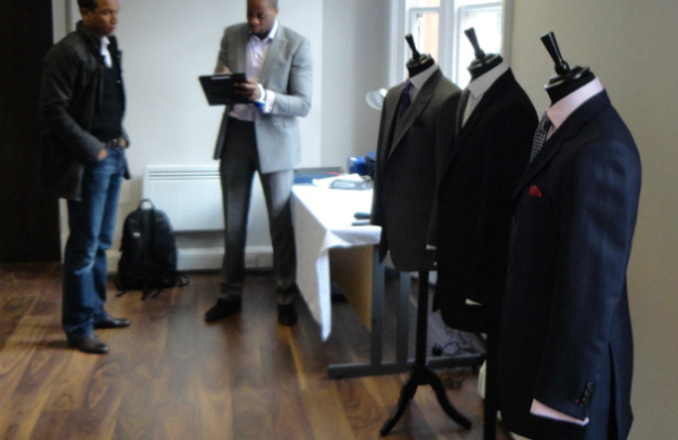 Menswear the grooms suit by King and Allen | Confetti.co.uk