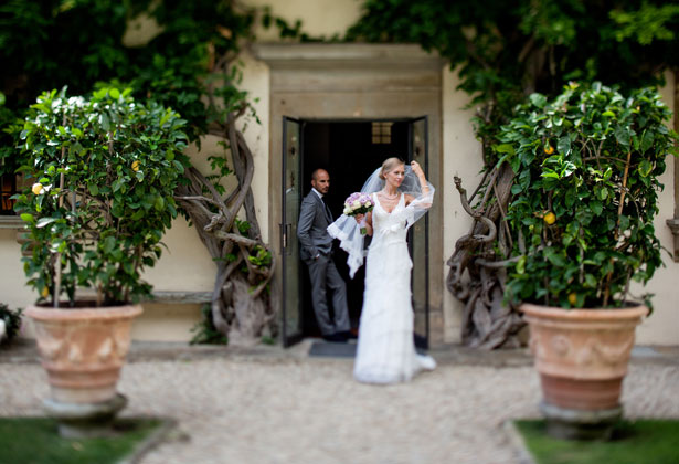 Agne and Dominique's real wedding